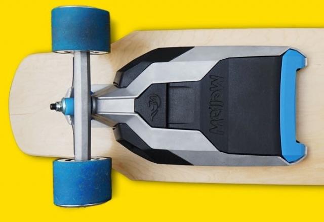 Mellow – электрический двигатель для любого скейта