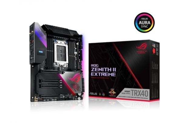 ASUS представляє материнські плати TRX40 для процесорів AMD Ryzen Threadripper третього покоління