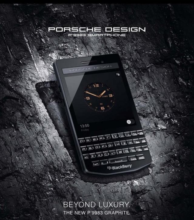 Представлен Blackberry P9983 Graphite от Porsche Design
