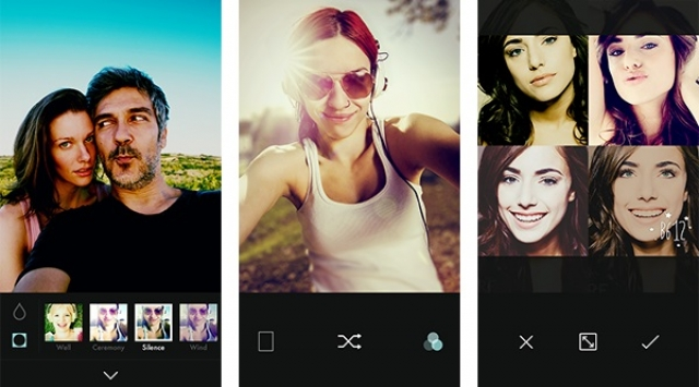 Line представила приложение для редактирования селфи на iPhone