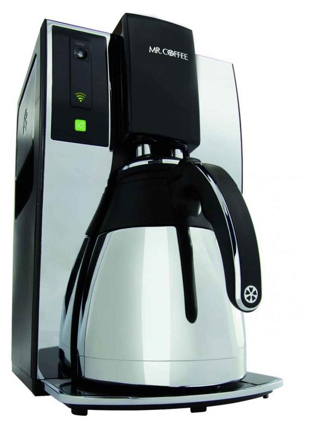 Wi-Fi кофеварка варит кофе, пока вы в постели