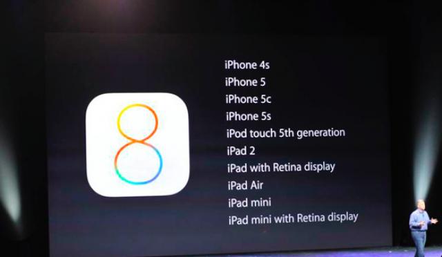 Apple сообщила, когда пользователи смогут установить iOS 8