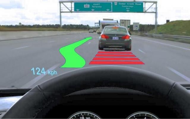 Ученые выяснили, что технология HUD-дисплеев может сделать вождение опасней