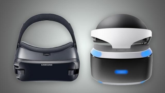 Samsung Gear VR (2017) проти Sony PlayStation VR