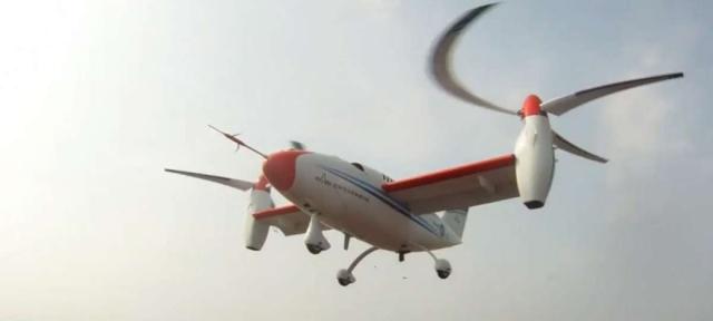 Южная Корея представила прототип скоростного дрона с косыми винтами: один корпус, много лопастей