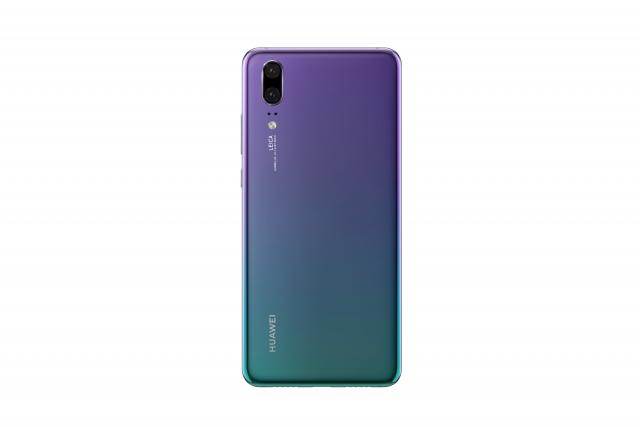 Новий Huawei P20 представлено в Україні в градієнтному кольорі Twilight і за привабливою ціною