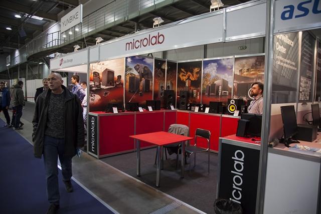 CEE 2016: стенд Microlab