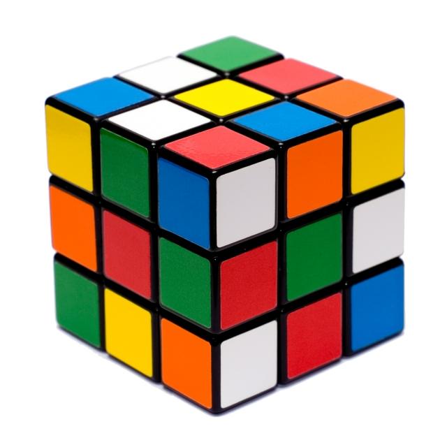 Кубик-рубик для загадочных интеллектуалок