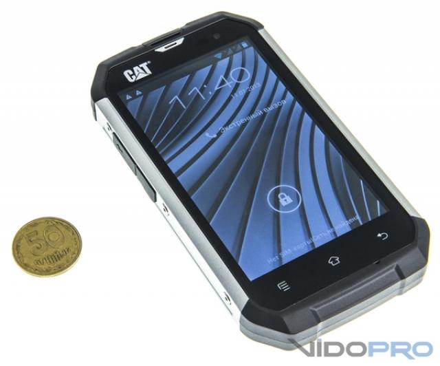 CAT B15 - ударостойкий, пыле- и водонепроницаемый смартфон