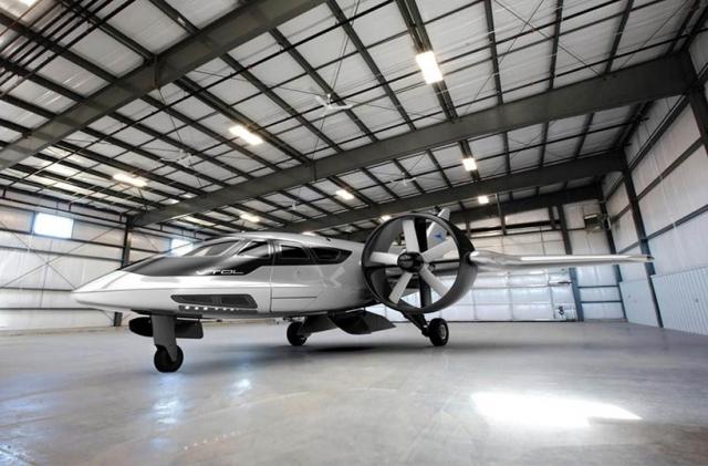 Концепт-видео: бизнес-самолет вертикального взлета и посадки