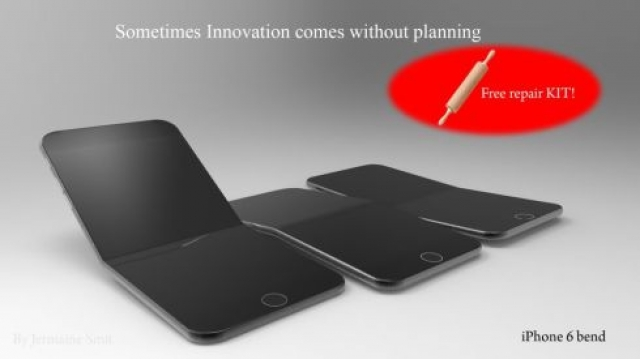 Смартфон моей мечты: гибкий iPhone 6 Bend