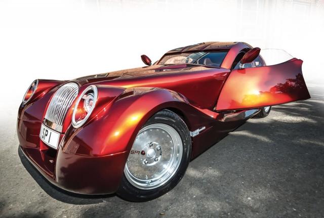 Morgan SP1 - мечта автомобилиста в стиле стимпанк