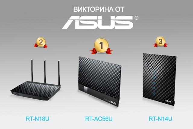 Итоги викторины ASUS: встречайте победителей!