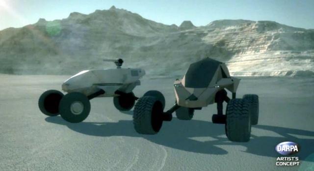 DARPA надало право на розробку нових броньовиків GXV-T вісьмом організаціям
