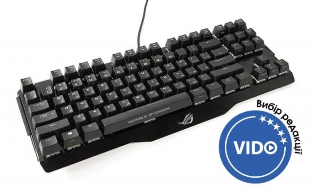 Огляд ігрової клавіатури ASUS ROG Claymore Core
