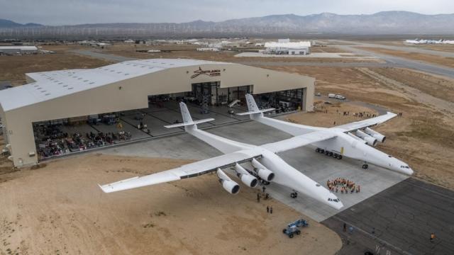 В США створили найбільший у світі літак