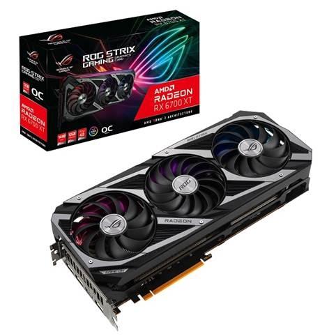 ASUS представляє відеокарти серії AMD Radeon RX 6700 XT