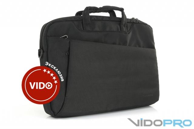 Обзор сумки для ноутбука Tucano Diago: классика всегда в почете