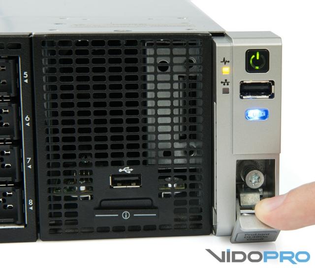 Обзор стоечного сервера HP ProLiant DL380e G8