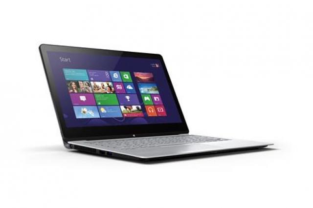 VAIO Fit multi-flip: ПК превращается в планшет