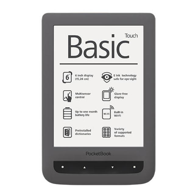"""Обновленные PocketBook Basic Touch с технологией """"Film Touch"""""""