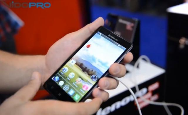 Смартфон Lenovo P780 на выставке CEE 2013