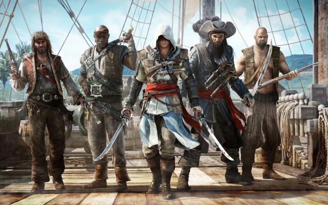 Видео нового Assassin's Creed 4: Black Flag показало своих пиратов