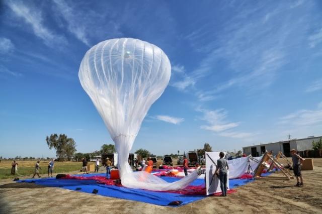 Воздушные шары с Интернетом от Google работают, сообщил вице-президент компании