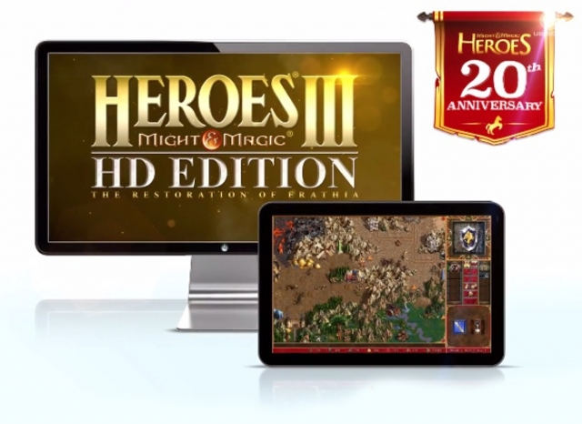 Heroes of Might and Magic III HD выходит для Steam, iOS и Android (+видео)