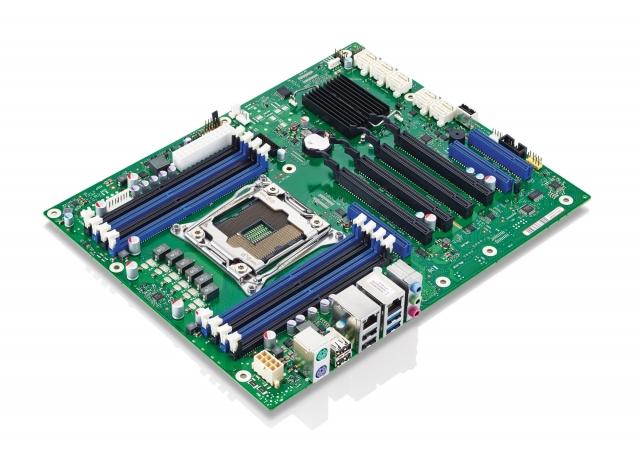 Промышленная материнская плата Fujitsu D3348-B форм-фактора АТХ с чипсетом Intel C612