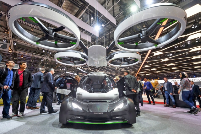 Літаючий модульний автомобіль від Airbus