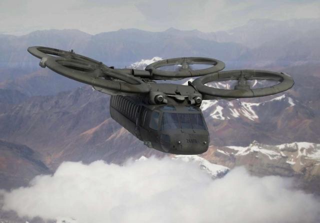 Выглядеть военные вертолеты будущего