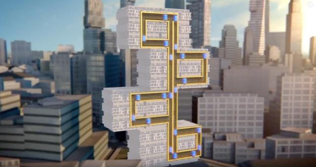 Безтросовий ліфт, який рухається в різних напрямках (відео)