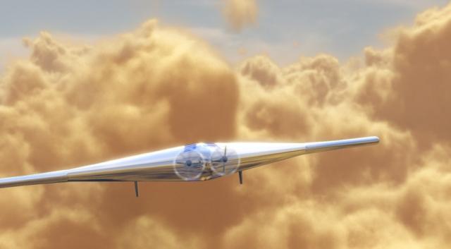 Надувной самолет это следующий шаг в исследовании космоса