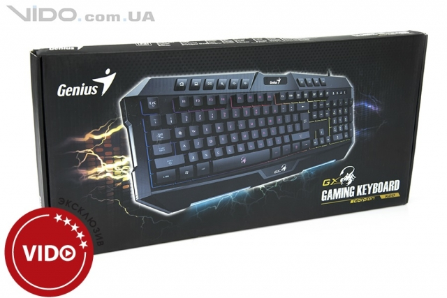 Обзор клавиатуры Genius GX Gaming Scorpion K20