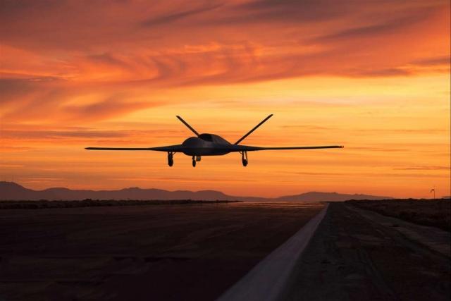 General Atomics хотят установить лазер на беспилотник