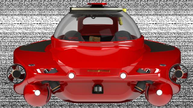 Частная субмарина U-Boat Worx получила дизайн спортивного авто