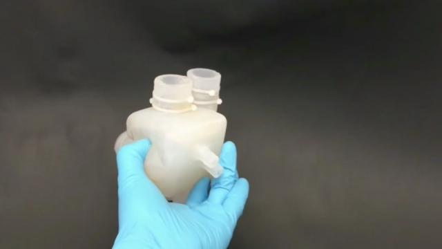 Штучне серце надруковане на 3D принтері (відео)