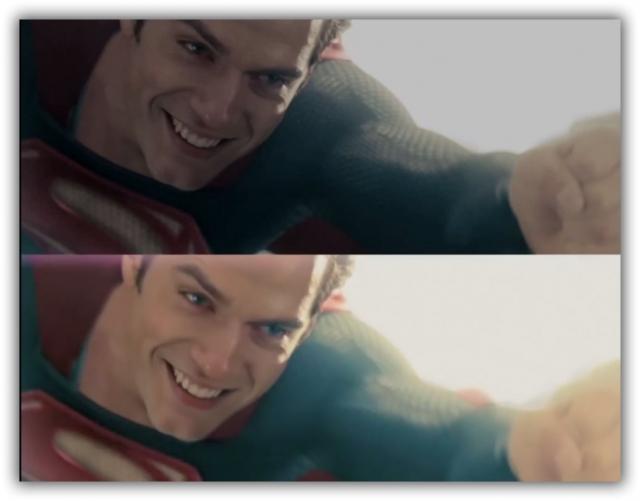 Видео дня: если бы фильм «Человек из Стали» снимали в нормальном цвете