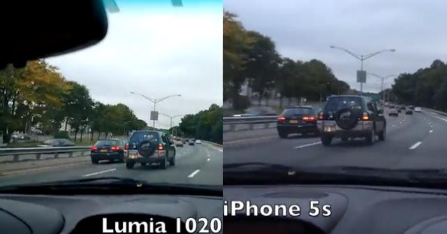 Ночная поездка городом: сравнение камер Nokia Lumia 1020 и iPhone 5S