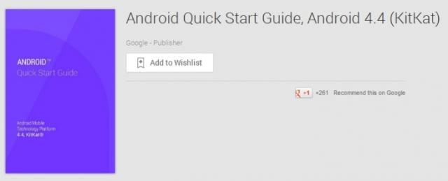 Google представила гид новичка Android 4.4 KitKat