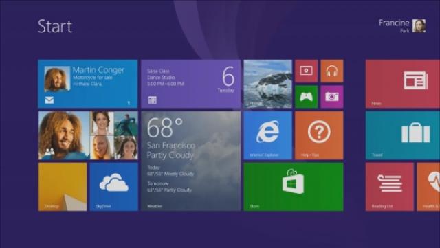 Windows 8.1 популярнее Mac OS X Mavericks?