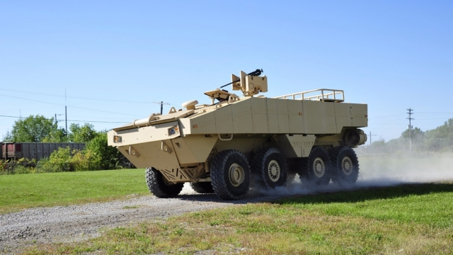 Lockheed Martin представил новый броневик-амфибию