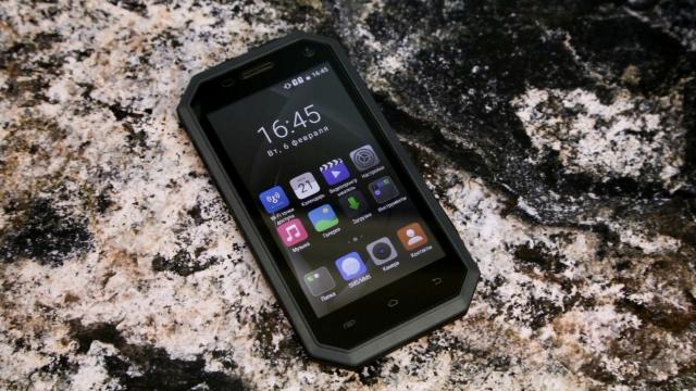 Огляд захищеного смартфона 2E E450R