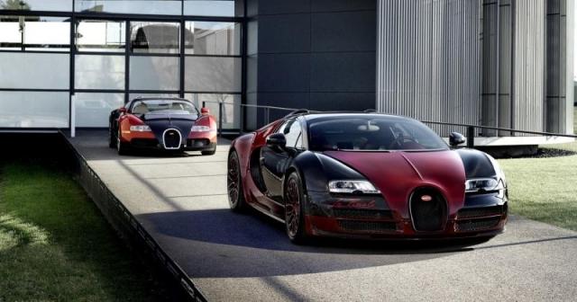 Bugatti заканчивают линейку Veyron моделью «La Finale»