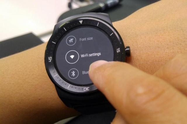 LG G Watch R смогут поддерживать Wi-Fi