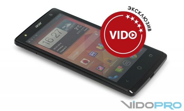 Обзор смартфона Acer Liquid E3: блестящие возможности