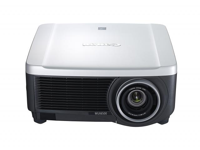 Новый проектор Canon XEED WUX6500, широкоугольный объектив LX и презентер PR500-R