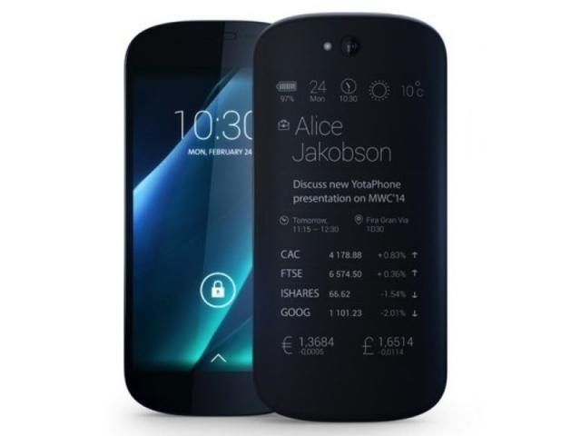 MWC 2014: в Барселоне представлено второе поколение смартфона Yotaphone