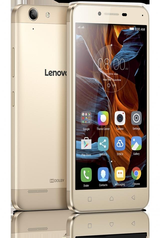 Lenovo представляет смартфоны VIBE K5 Plus и VIBE K5